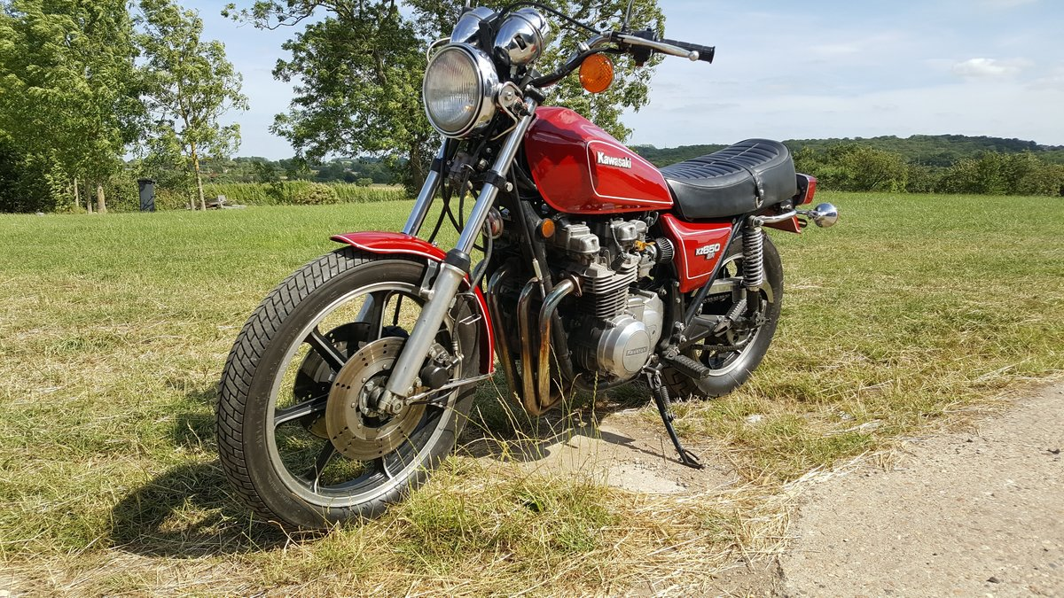 Kawasaki KZ650SR 1979 In very nice condition For Sale (picture 3 of 5)