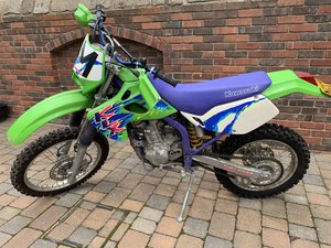 Kawasaki klx 250 **337miles** no former keepers