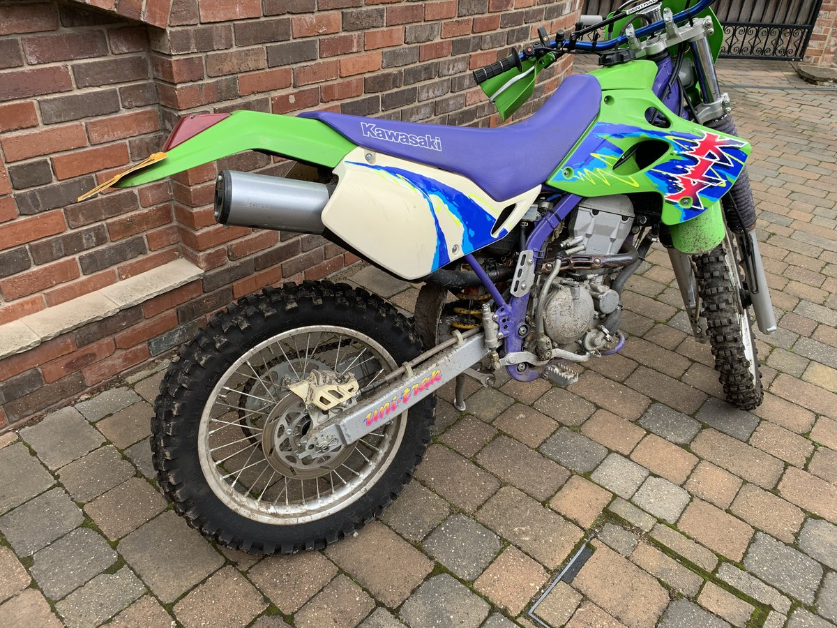 1995 Kawasaki klx 250 **337miles** no former keepers SOLD (picture 2 of 6)