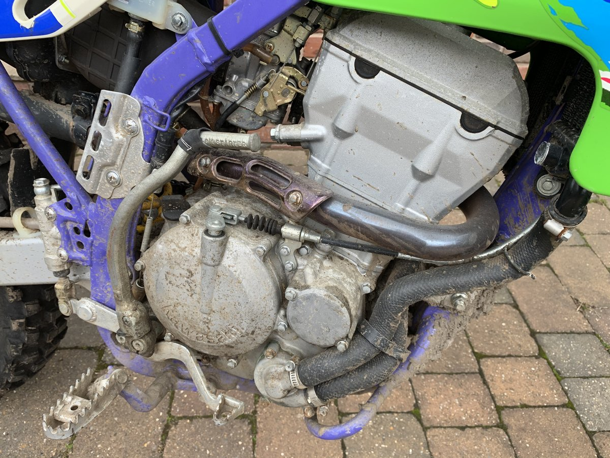 1995 Kawasaki klx 250 **337miles** no former keepers SOLD (picture 4 of 6)