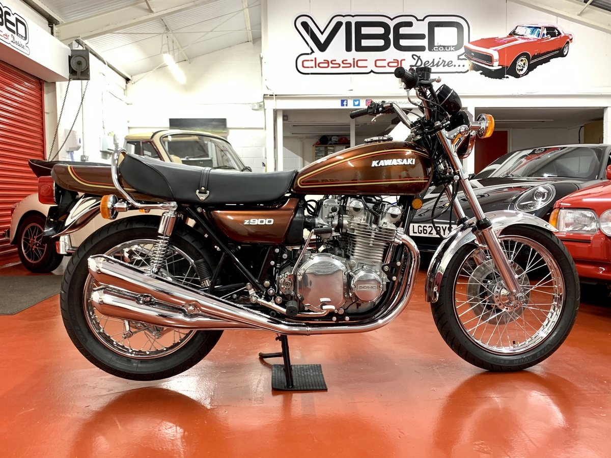 1976 Kawasaki Z900 A4 //Full Restoration // UK Matching Numbers For Sale (picture 1 of 6)