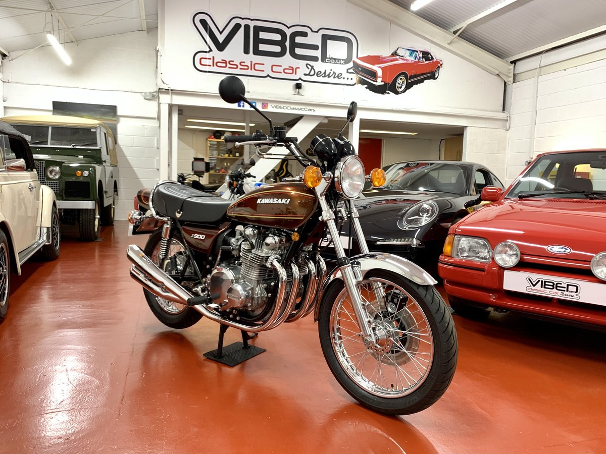 1976 Kawasaki Z900 A4 //Full Restoration // UK Matching Numbers For Sale (picture 2 of 6)