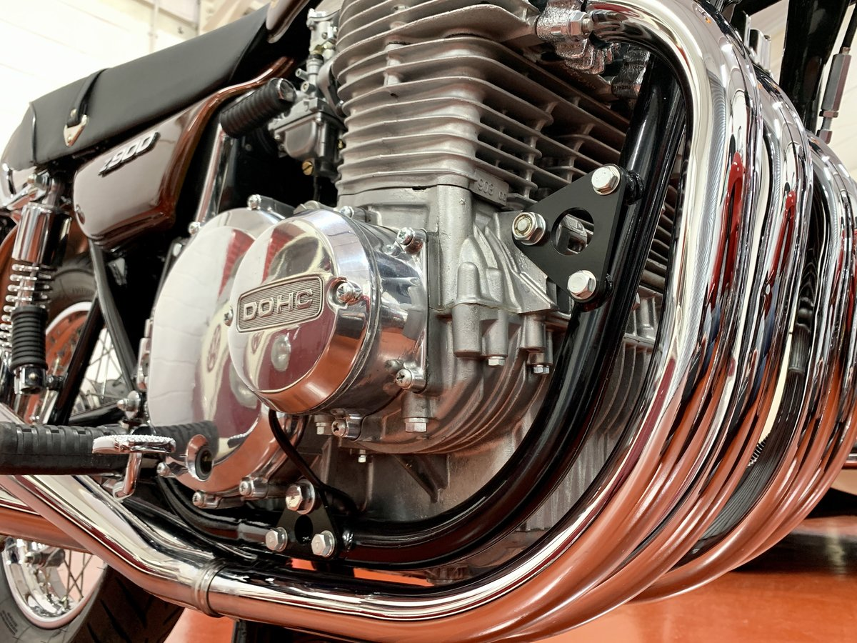 1976 Kawasaki Z900 A4 //Full Restoration // UK Matching Numbers For Sale (picture 5 of 6)
