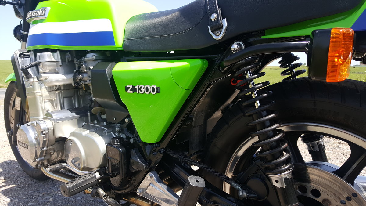 1979 Kawasaki Z1300 Lawson paint low mileage For Sale (picture 3 of 6)