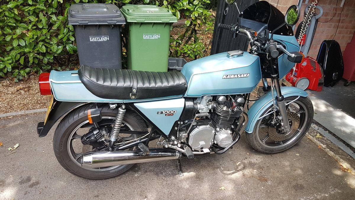 1981 Kawasaki Z1R Z1000 1978 For Sale (picture 1 of 6)