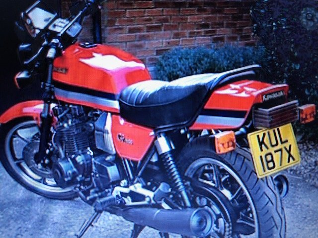 1981 Kawasaki GPZ1100 B1 For Sale (picture 1 of 6)