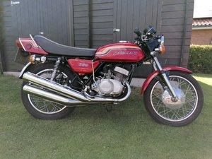 1972 Kawasaki 350s2 Triple