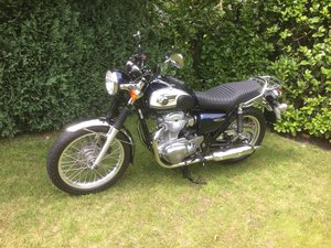 Kawasaki W800. Less than 2700 miles.As New.