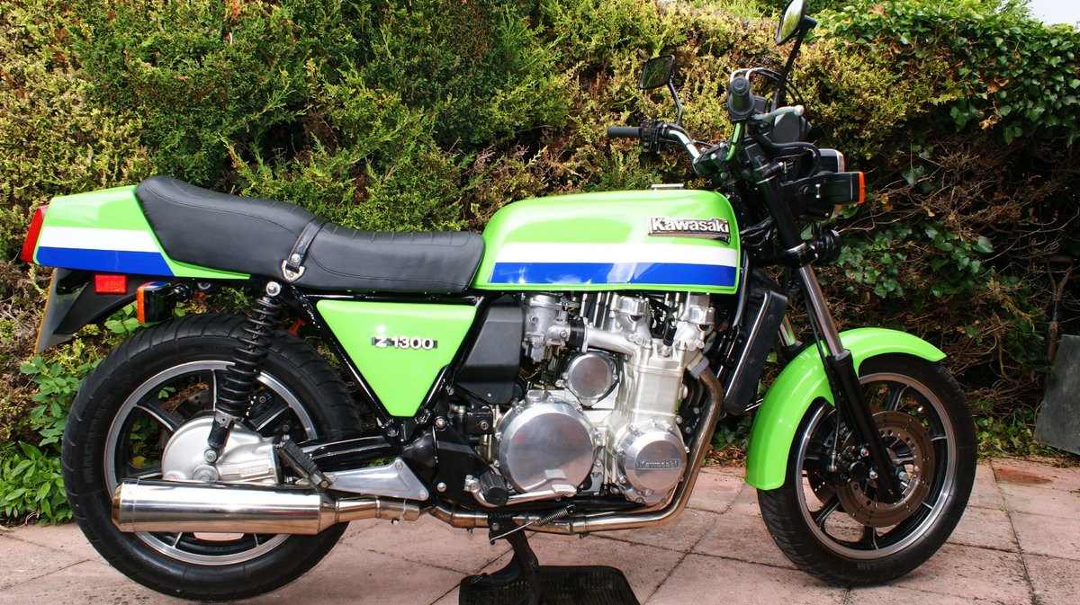 1979 Kawasaki Z1300 Lawson paint low mileage For Sale (picture 4 of 6)