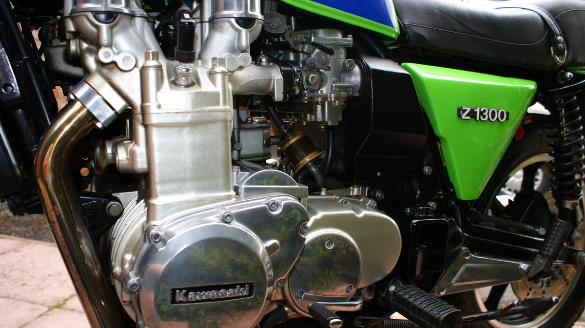 1979 Kawasaki Z1300 Lawson paint low mileage For Sale (picture 6 of 6)