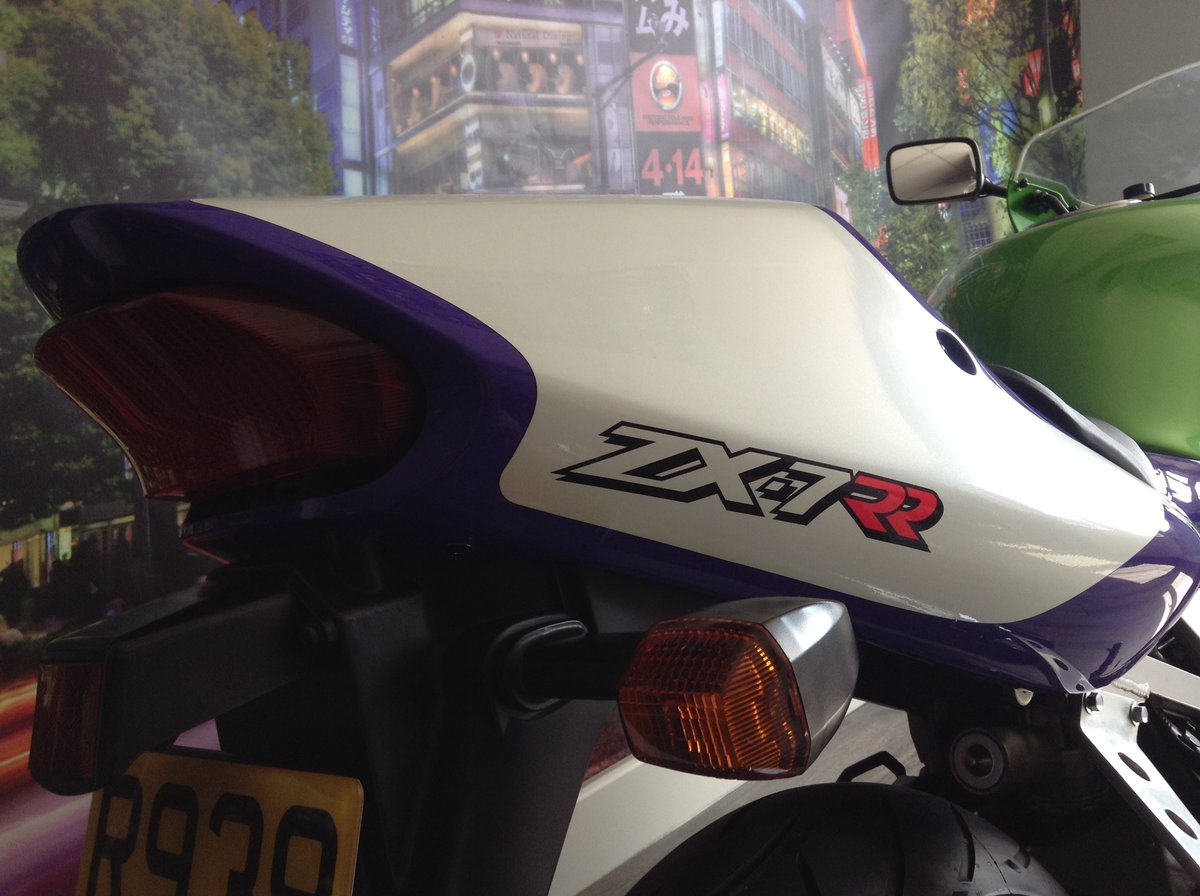 1998 Kawasaki ZX7-RR Limited Edition Homologation Special For Sale (picture 3 of 6)