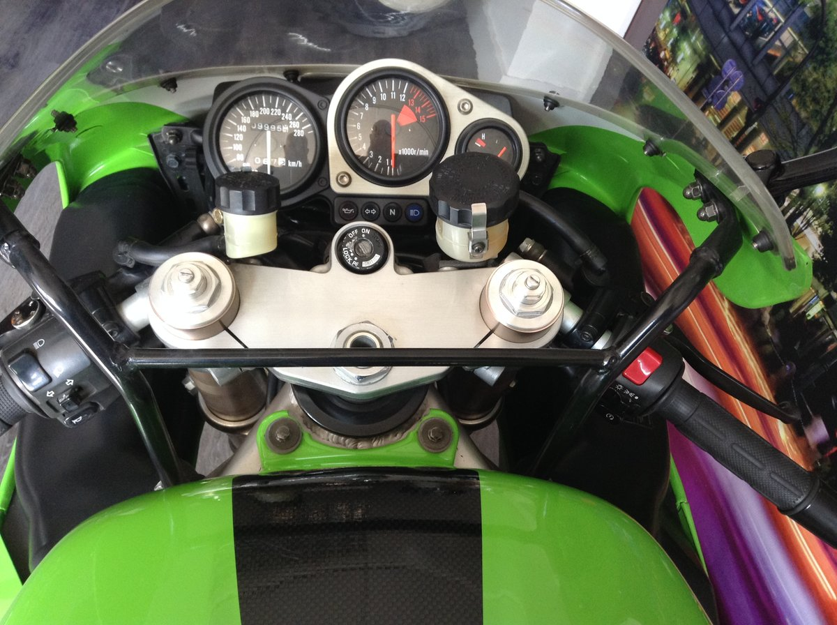 1998 Kawasaki ZX7-RR Limited Edition Homologation Special For Sale (picture 5 of 6)
