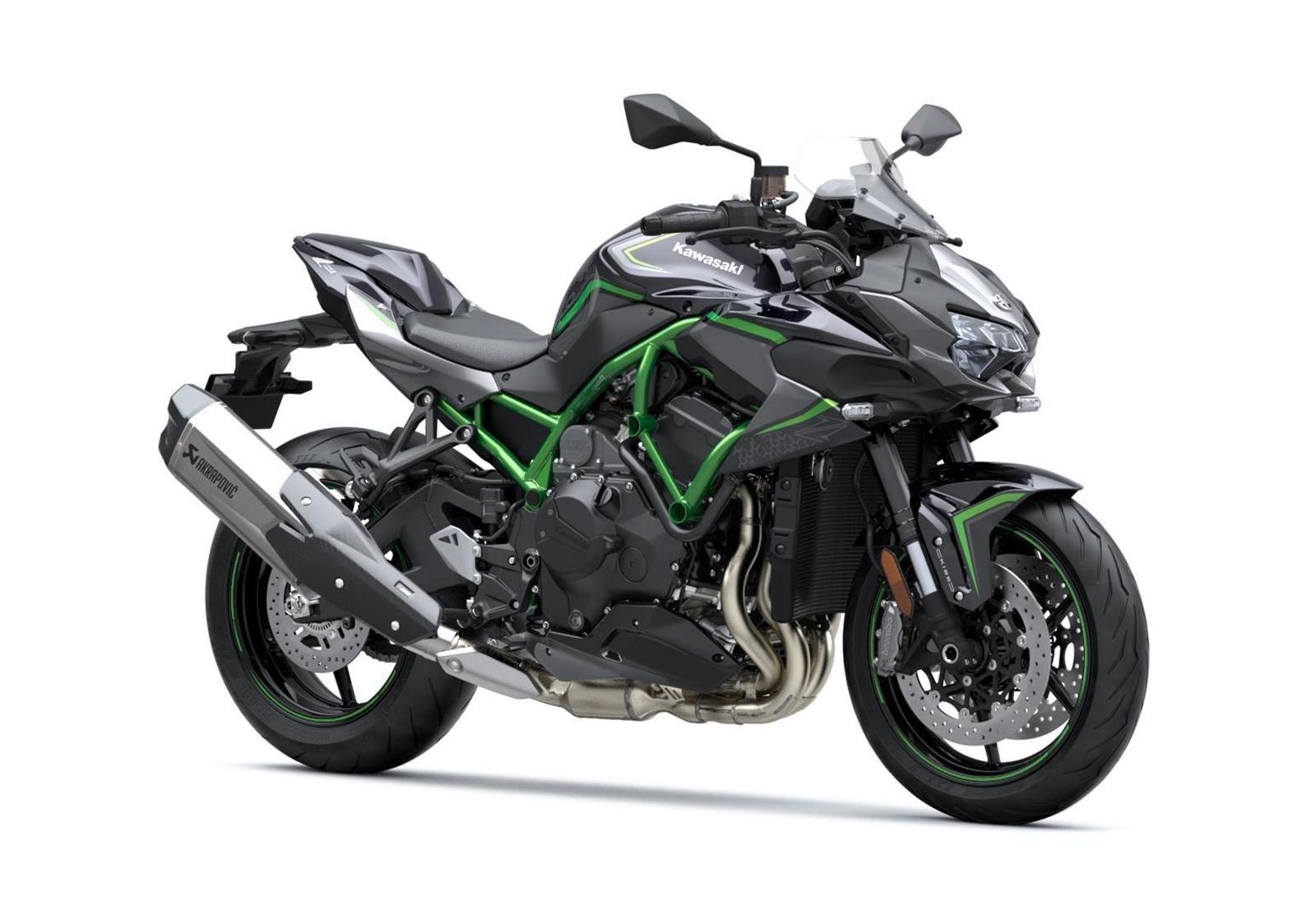 New 2020 Kawasaki Z H2 Naked Supercharged Roadster Z1000