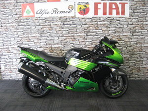2011 11-reg Kawasaki ZZR1400 DBF ABS Finished in green  For Sale