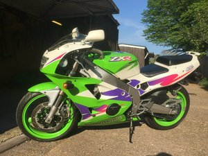 Kawasaki ZXR400 L-9, only 8600 miles and 2 owners