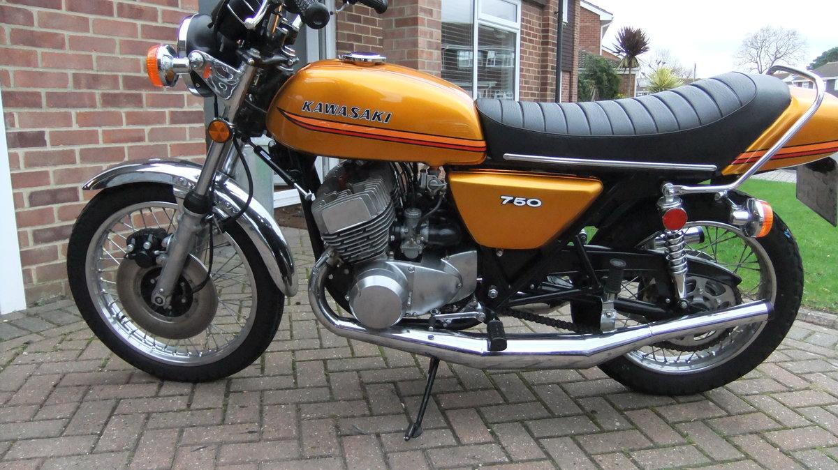 Kawasaki H2B 750 triple 1974 SOLD (picture 6 of 6)