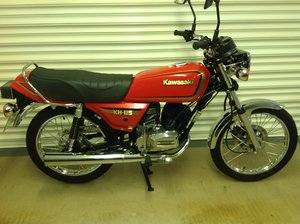 1997 Beautiful restored kh125