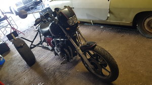 Picture of 1986 Trike road register  . Project 750 Kawasaki