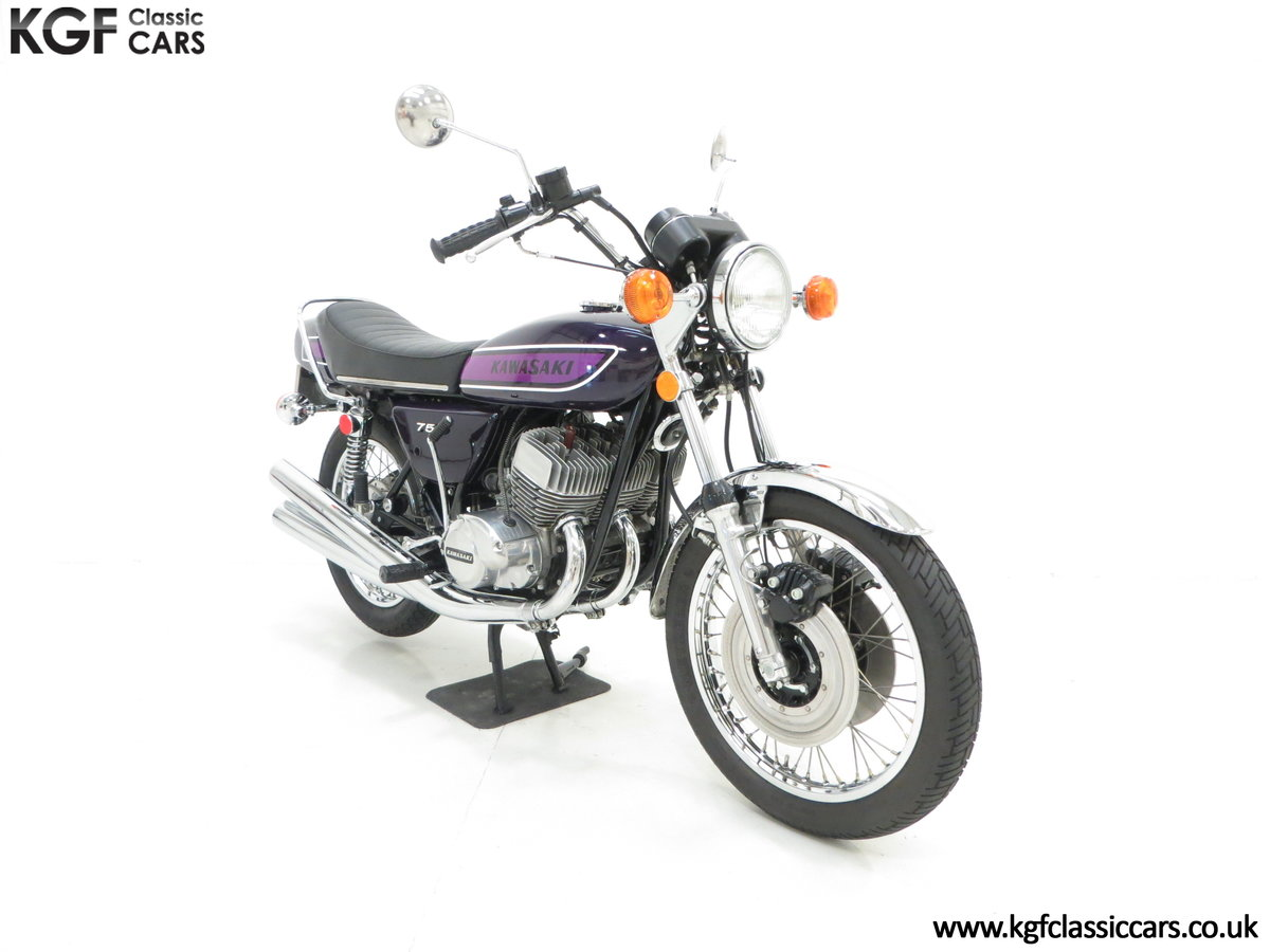 1975 A 'King of the Streets' Kawasaki 750 Mach IV H2 SOLD (picture 1 of 24)