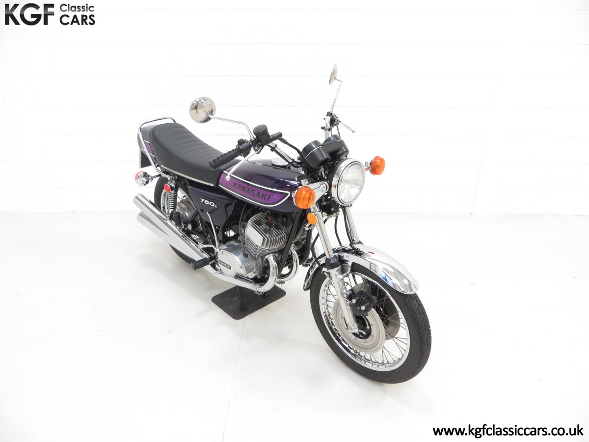 1975 A 'King of the Streets' Kawasaki 750 Mach IV H2 SOLD (picture 2 of 24)