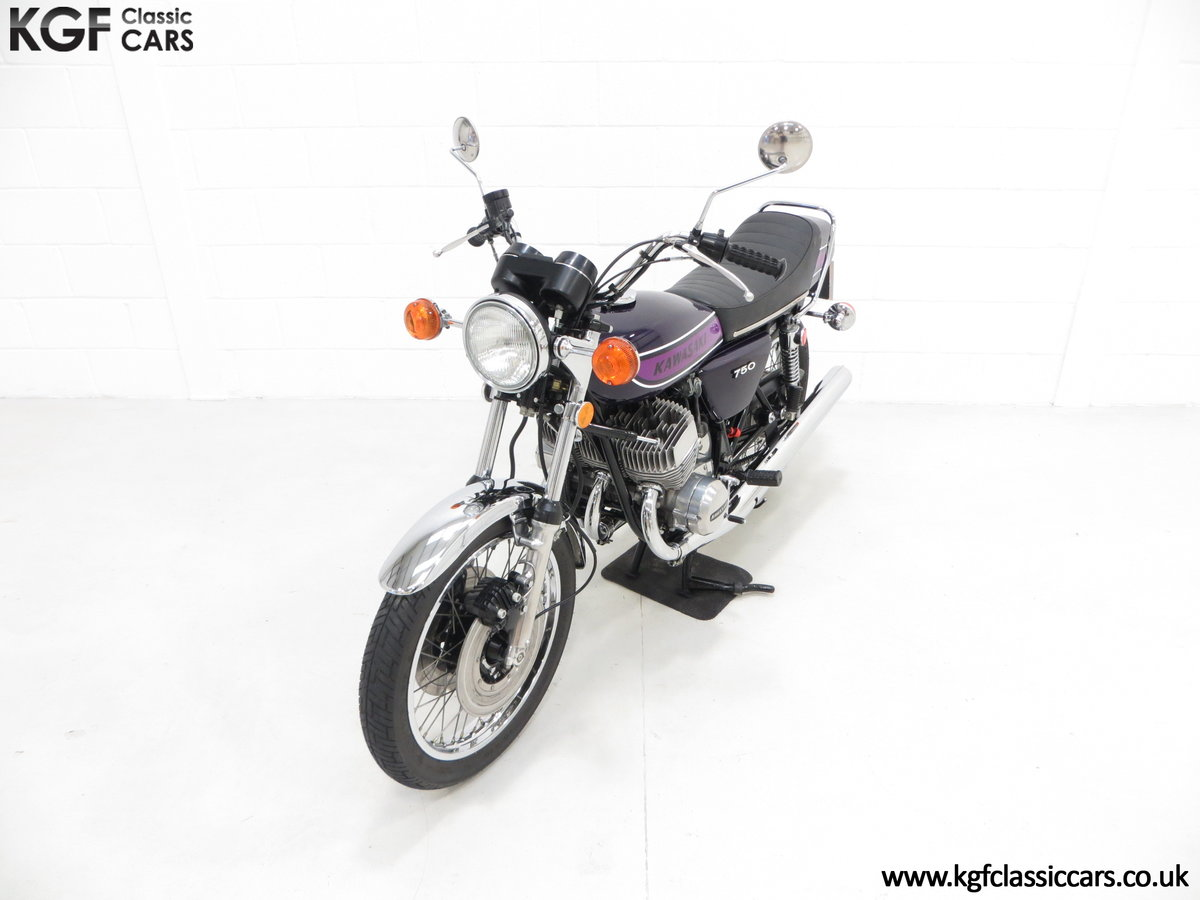 1975 A 'King of the Streets' Kawasaki 750 Mach IV H2 SOLD (picture 5 of 24)