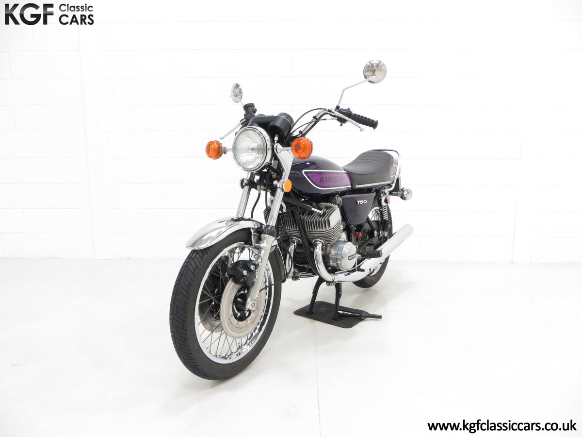 1975 A 'King of the Streets' Kawasaki 750 Mach IV H2 SOLD (picture 6 of 24)