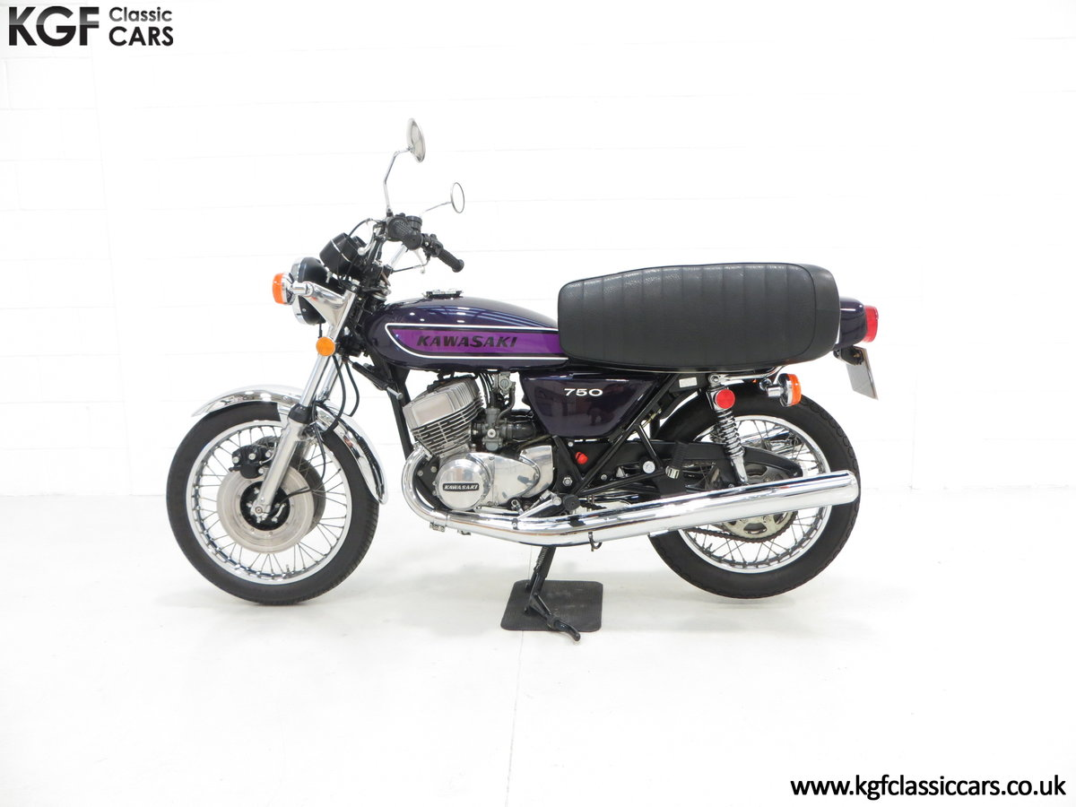 1975 A 'King of the Streets' Kawasaki 750 Mach IV H2 SOLD (picture 7 of 24)
