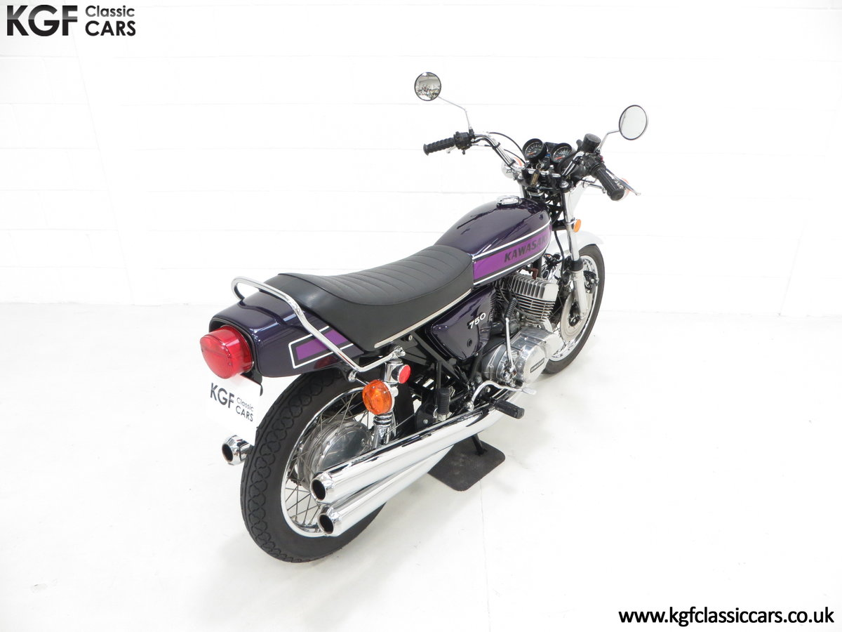 1975 A 'King of the Streets' Kawasaki 750 Mach IV H2 SOLD (picture 12 of 24)