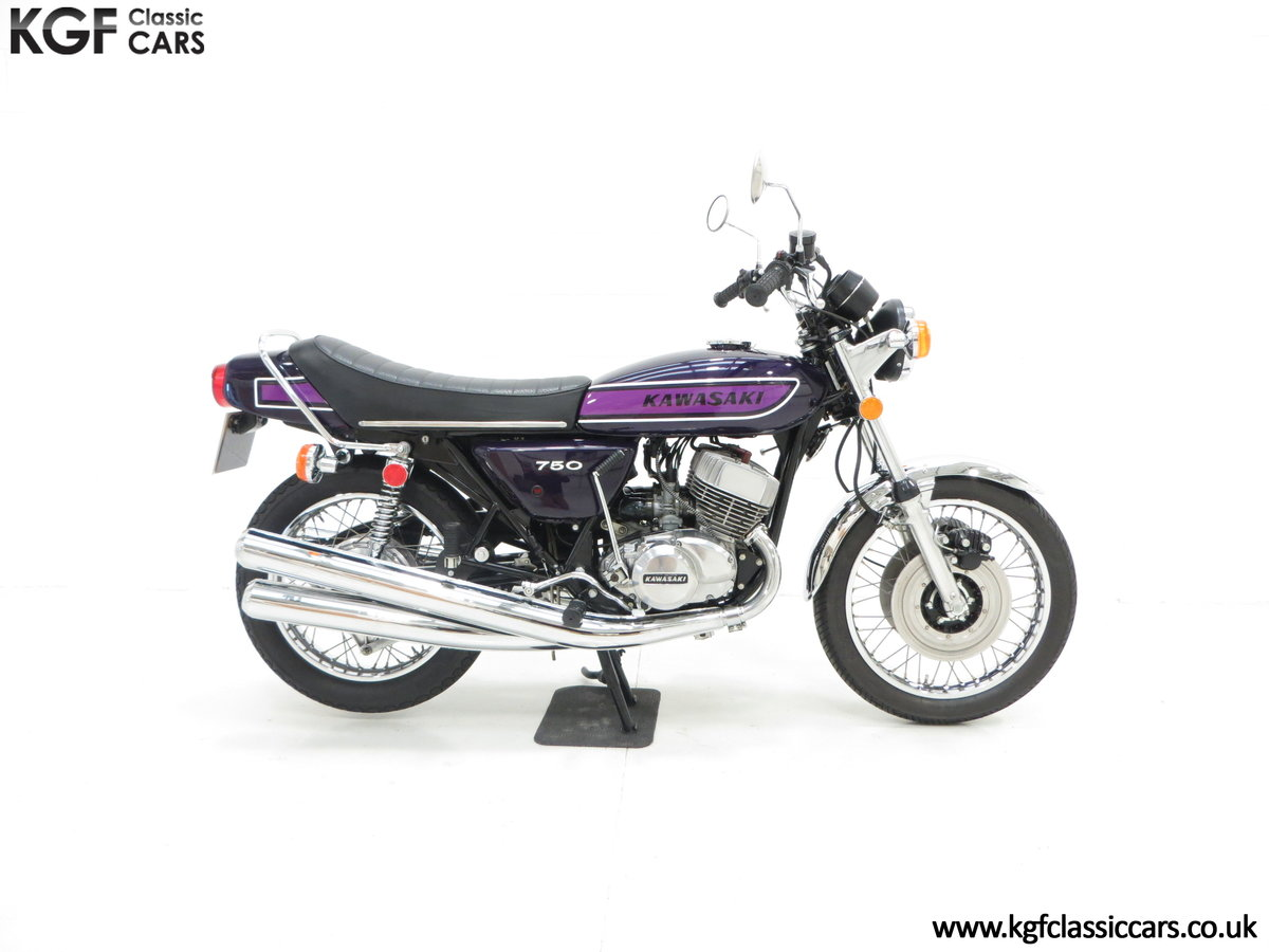 1975 A 'King of the Streets' Kawasaki 750 Mach IV H2 SOLD (picture 14 of 24)