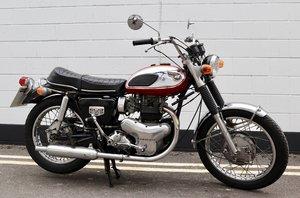 1969 Kawasaki W1S 650cc. In very rare 100% original conditio