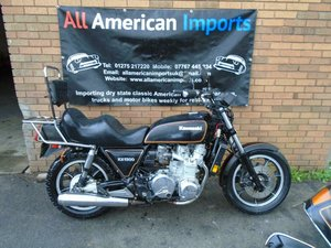 KAWASAKI KZ1300 A (1982) MET BLACK FRESH US IMPORT!