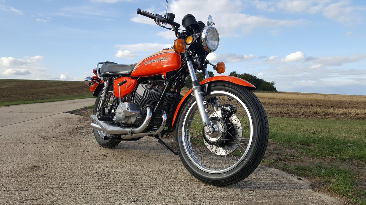 1972 Kawasaki H1b 500 Triple. A very rare UK spec bike in lovely  For Sale (picture 1 of 6)