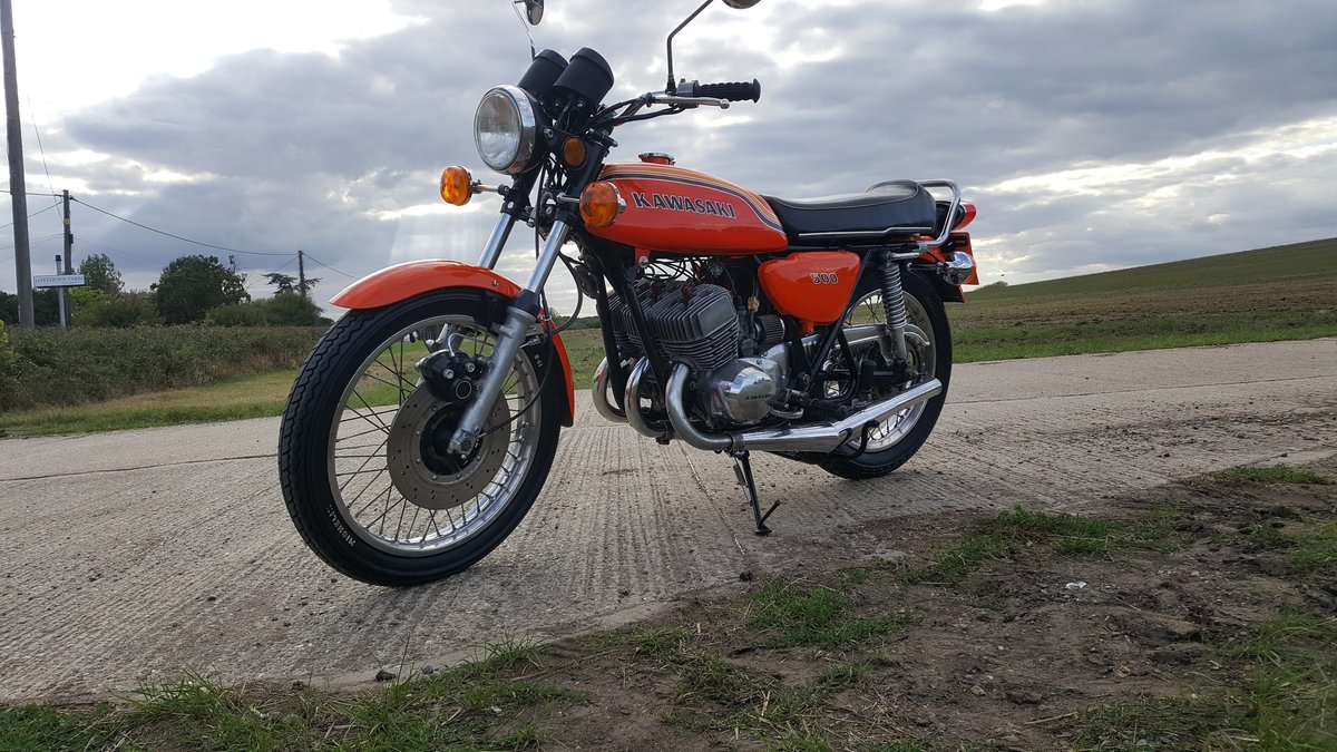 1972 Kawasaki H1b 500 Triple. A very rare UK spec bike in lovely  For Sale (picture 2 of 6)