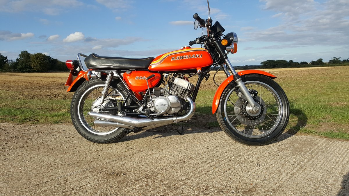 1972 Kawasaki H1b 500 Triple. A very rare UK spec bike in lovely  For Sale (picture 3 of 6)