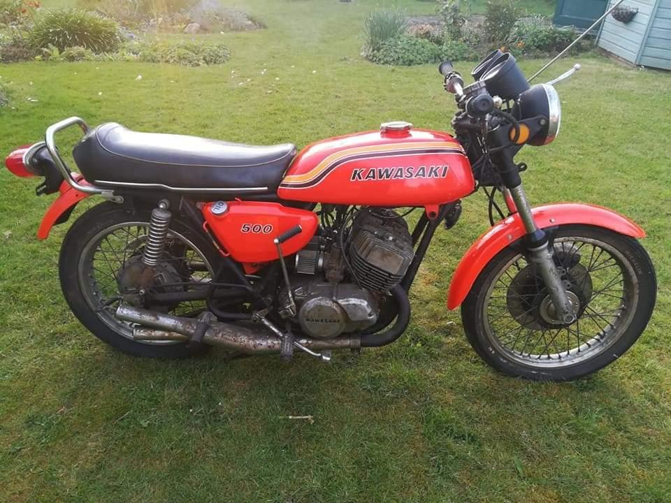 1972 Kawasaki H1b 500 Triple. A very rare UK spec bike in lovely  For Sale (picture 6 of 6)