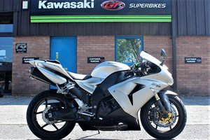 2006 06 Kawasaki ZX-10R Supersport Silver For Sale