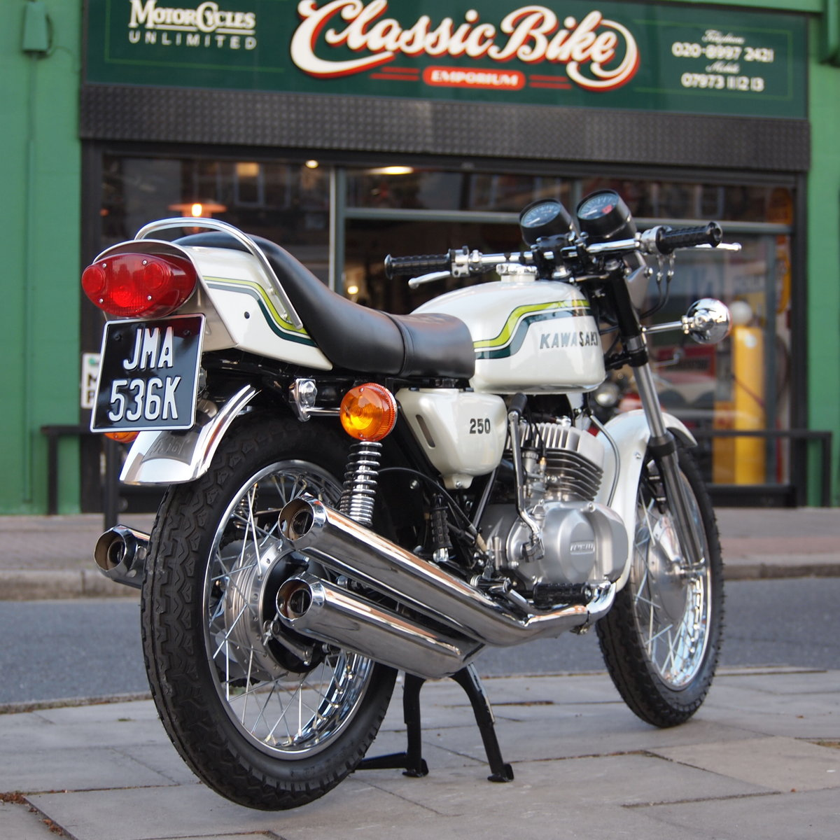 1972 Kawasaki S1 250 Triple, RESERVED FOR STEPHEN. SOLD (picture 1 of 6)