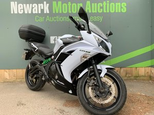 2015 Ist October Auction entry - physical sale! Kawasaki EX650