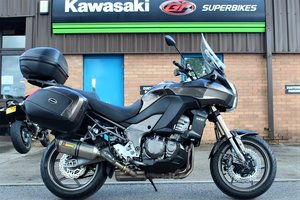 2012 12 Kawasaki Versys 1000 ABS Adventure Tourer Grey