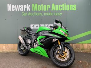 2012 Ist October Auction entry - physical sale! Kawasaki Ninja