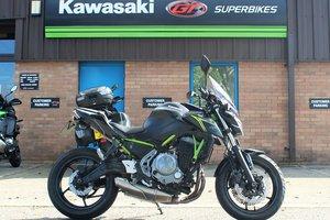 2018 68 Kawasaki Z650 ABS