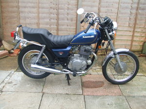 Picture of 1980 Kawasaki KZ250 LTD single. 1971 miles only. VGC.
