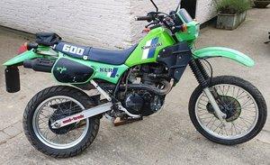 1984 Kawasaki KLR 600, 564 cc.