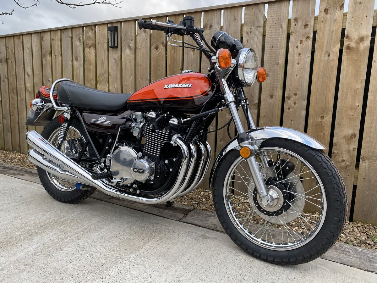 KAWASAKI Z1 Z900 1972 BUILT BY THE MASTER OF ZEDS BEST EVER! For Sale (picture 1 of 6)