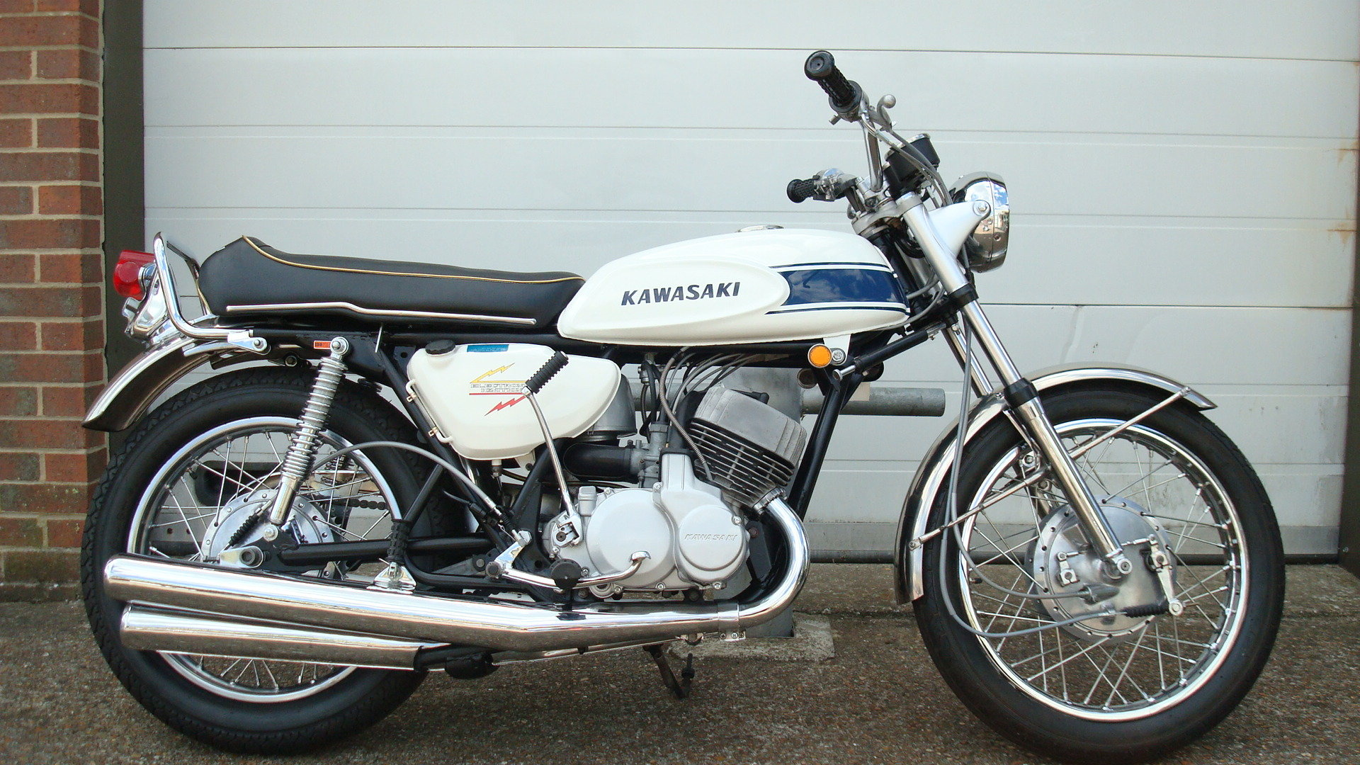 Kawasaki H1 500 TRIPLE 1969-G For Sale (picture 1 of 6)