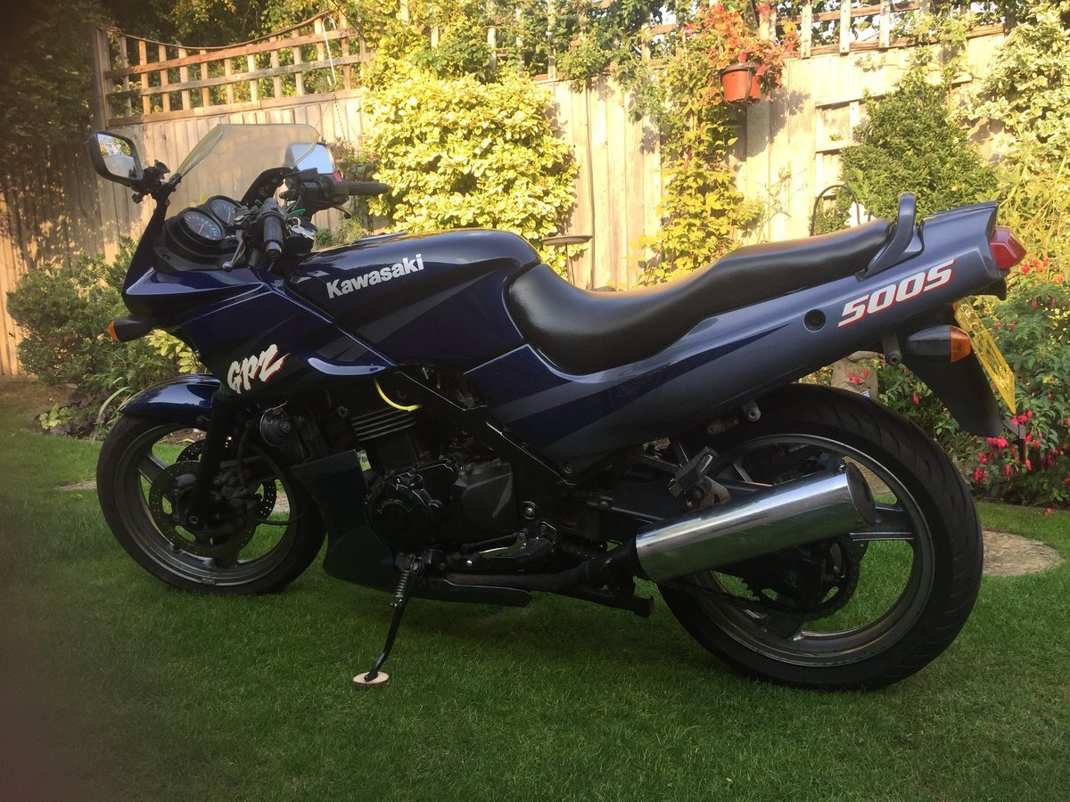 2003 Good Condition Kawasaki GPZ 500S For Sale (picture 1 of 5)