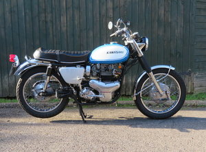 Picture of 1969 Kawasaki W2 650-TT Commander For Sale by Auction