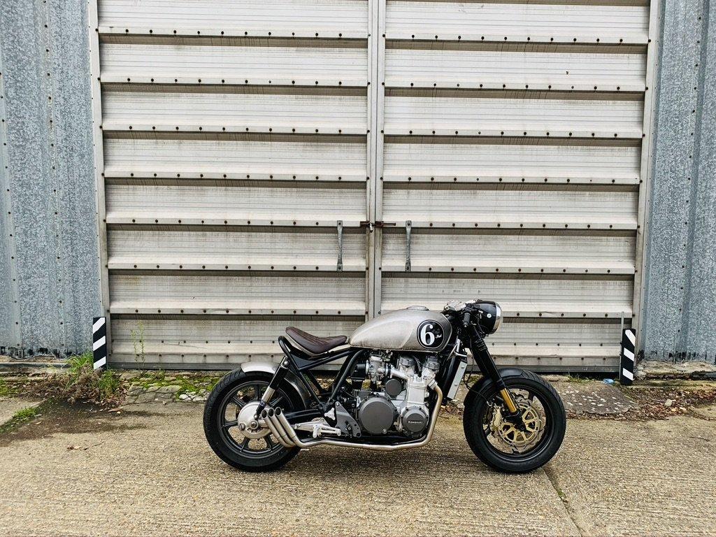 Kawasaki KZ1300 cafe racer custom project