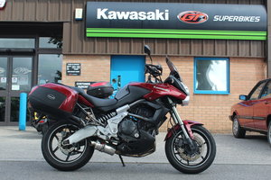 Picture of 2011 11 Kawasaki KLE 650 Versys ABS Tourer Adventure Red For Sale