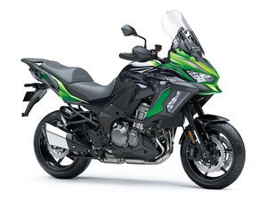 Picture of New 2021 Kawasaki Versys 1000 S **Green** For Sale